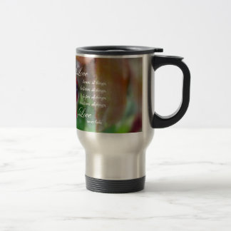 Bible in one hand, coffee in the other! travel mug