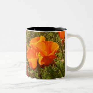 Bible in one hand, coffee in the other! Two-Tone coffee mug