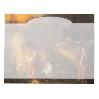 Bible - Jesus - Seeking the Christ child 1920 Note Pad