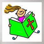 Bible Kid Poster