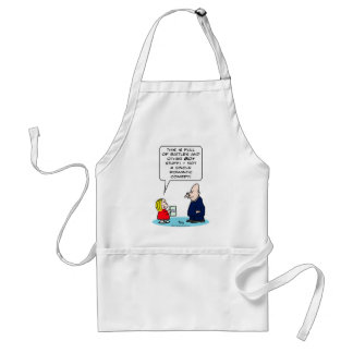 bible kid priest romantic comedy battles boy girl adult apron