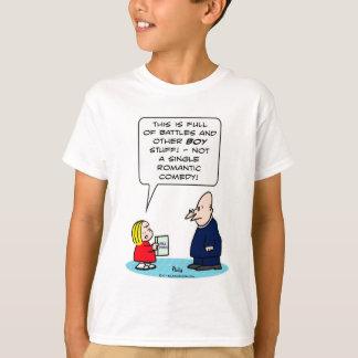 bible kid priest romantic comedy battles boy girl T-Shirt