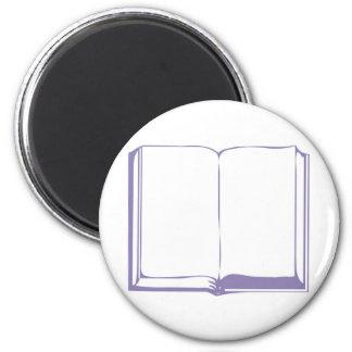 Bible lila fond blanc magnet