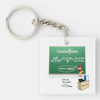 Bible Math Keychain