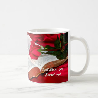 Bible Mug, God Bless you Secret Pal Coffee Mug