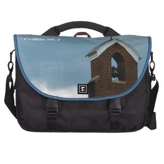 Bible Psalms 86 Christian Church Steeple Cross Bags For Laptop