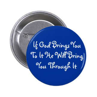 Bible Quote 2 Inch Round Button