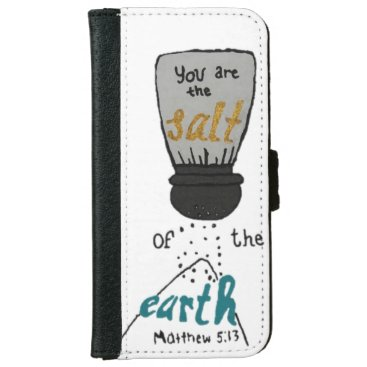 Bible Quote iPhone 6/6s Wallet Case