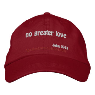 Bible Quotes Embroidered Hat
