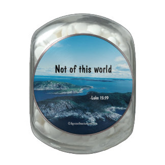 Bible Quotes Glass Jars