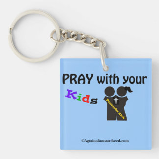Bible Quotes Inspirational Keychain