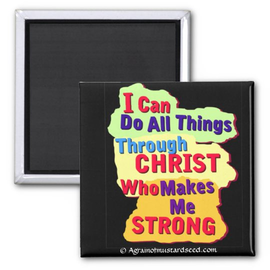 Bible Quotes Magnet