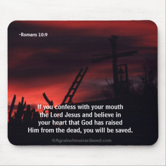 Bible Quotes Mouse Pad