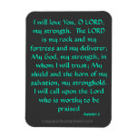 Bible Quotes Prayer Flexible Magnets