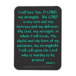 Bible Quotes Prayer Rectangular Photo Magnet