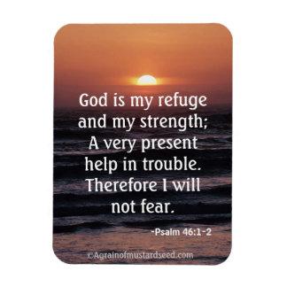 Bible Quotes Rectangular Photo Magnet