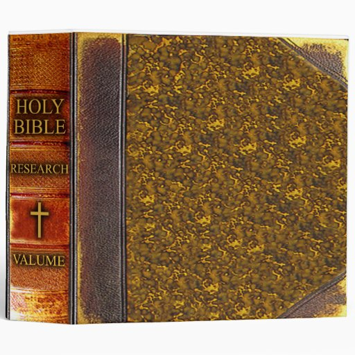 Bible Research Binder