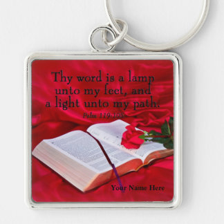 Bible Rose KeyChain