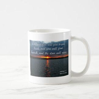 bible sayings coffee mug