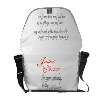Bible Scripture Christian Inspiration Messenger Bag