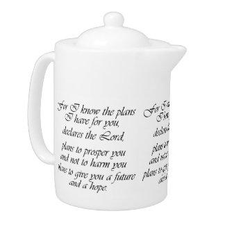 Bible Scripture Christian Inspiration Teapot