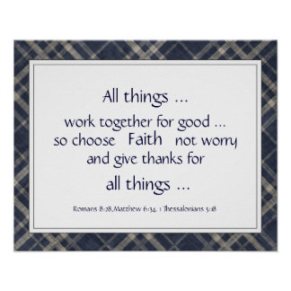 Bible Scripture Encouragement Uplifting Quotes Poster