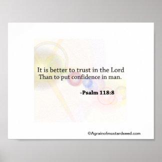 Bible Scripture prayers Poster