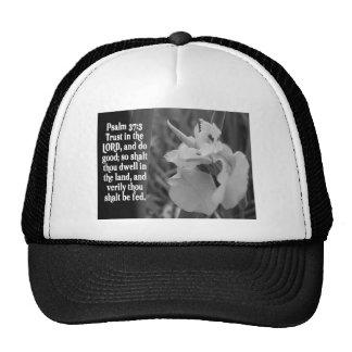 BIBLE SCRIPTURE PSALM 37:3 TRUST THE LORD TRUCKER HAT