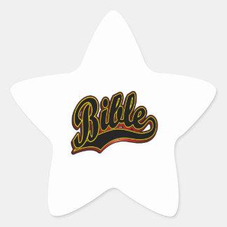 Bible Star Sticker