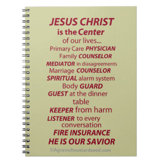 Bible Study Bible Quotes Notebook