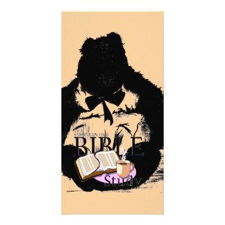 Bible Study Butterbear Card