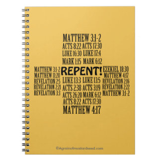 Bible Study Christian Quotes Notebook