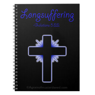 Bible Study Christian Quotes Spiral Notebook