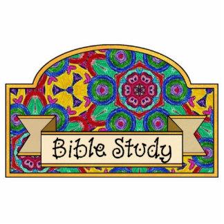 Bible Study - Decorative Sign Statuette