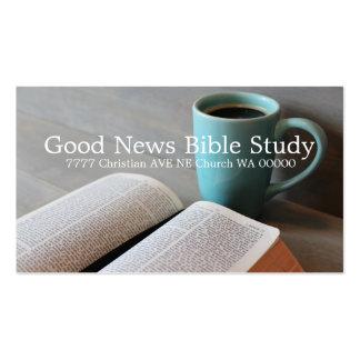 Bible Study Group Christian Business Card