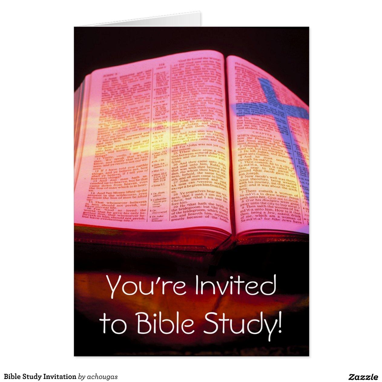 bible study invitation cards bible study invitation