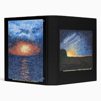 Bible Text Art Bindee- Genesis Aleph & Beit 3 Ring Binder