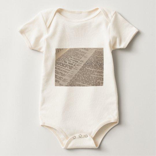 Bible Text Baby Bodysuit