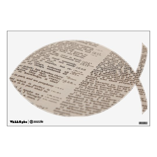 Bible Text Wall Decal