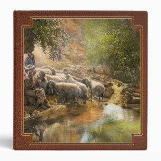 Bible - The Lord is my shepherd - 1910 Binder