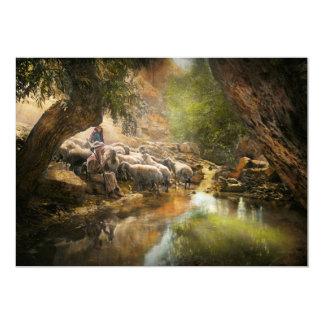 Bible - The Lord is my shepherd - 1910 Card
