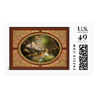 Bible - The Lord is my shepherd - 1910 Stamp
