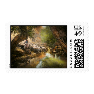 Bible - The Lord is my shepherd - 1910 Stamps