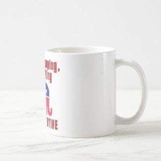 Bible Thumping, Gun Totin CONSERVATIVE Coffee Mug