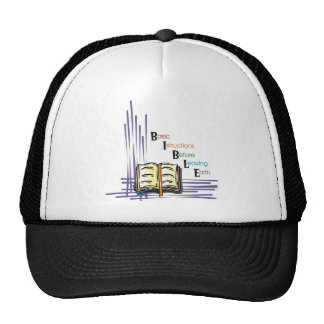 BIBLE TRUCKER HAT