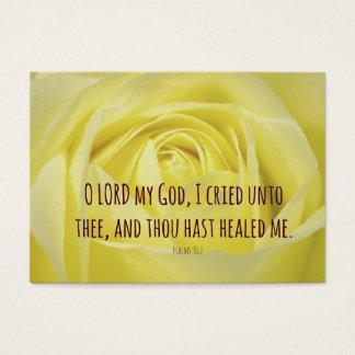 Bible Verse about Healing Business Card