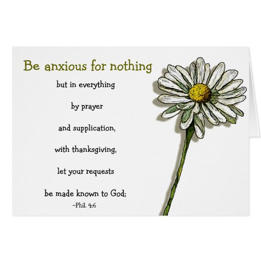 Bible_verse_anxiety_comfort_daisy_flower_card 137610067936103609 on Latest What To Write In Sympathy Card