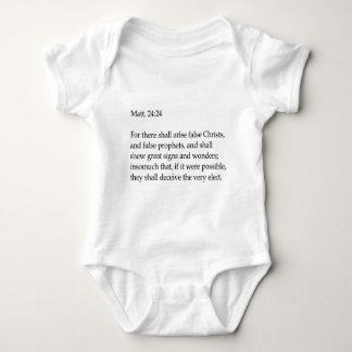 Bible verse apparel baby bodysuit