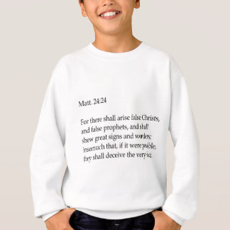 Bible verse apparel sweatshirt
