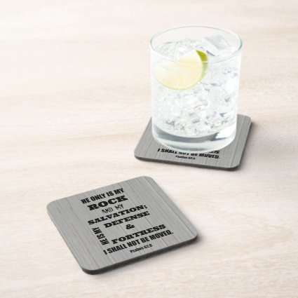 Bible Verse Beverage Coasters